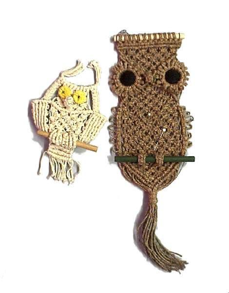 плетение сумок в стиле макраме схемы - Сумки.